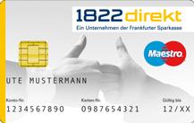 1822direkt Kreditkarte für Studenten Logo