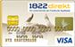 1822direktGold Card - Kartenmotiv