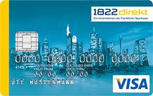 1822direkt Kreditkarte für Studenten und Azubis Logo