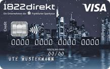 1822direkt Kreditkarte Logo