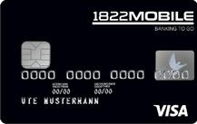 1822MOBILE Kreditkarte Logo
