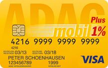 ADAC Clubmobil-Karte Logo