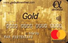 Advanzia Bank MasterCard Gold Logo