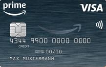 Amazon Prime VISA Kreditkarte Logo