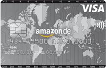 Amazon VISA Kreditkarte Logo