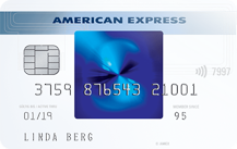 American Express Blue Card Logo