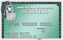 American Express Business Green Logo