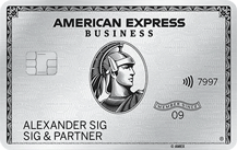 Die American Express Business Platinum Card im Test