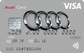 Audi Bank Visa Card - Kartenmotiv