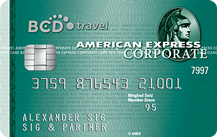 BCD Travel American Express Corporate Card Logo