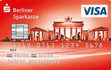 Die Berliner Sparkasse VISA Prepaid (ab 18 Jahren) Logo