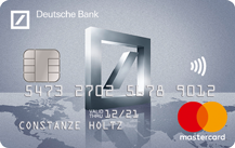Deutsche Bank MasterCard Travel Logo