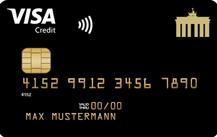 Deutschland-Kreditkarte Gold Logo
