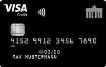 Deutschland-KreditkarteVisa Card - Kartenmotiv
