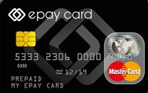 epay card Prepaid Mastercard Logo