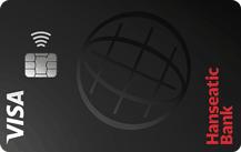 Hanseatic BankGenialCard - Kartenmotiv