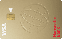 Hanseatic Bank GoldCard Logo