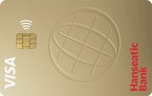 Logo Hanseatic BankGoldCard