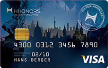 Hilton Honors Credit Card Logo