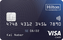 Hilton Honors Credit Card Logo