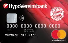 FC Bayern Prepaid Kreditkarte Logo