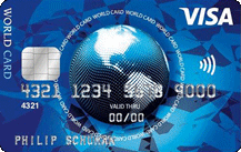 ICS Visa World Card Logo