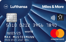 Lufthansa Miles & More Credit Card Blue (World Business) Logo