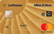 Miles & MoreCredit Card Gold (World) - Kartenmotiv