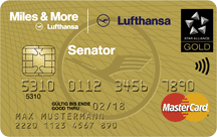 Lufthansa Miles & More Senator Credit Card (World) Logo