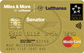 Lufthansa Miles & More Senator Credit Card (World Plus)