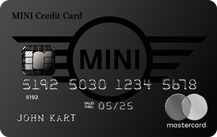 MINI Credit Card Special Logo