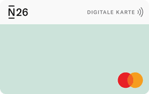 N26 Business MasterCard Logo