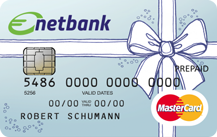 netbank Prepaid Geschenkkarte Logo