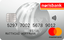 Norisbank Mastercard direkt Logo