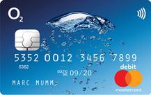 o2 Banking Debit MasterCard Logo