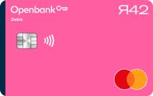 Openbank Я42 Debit MasterCard Logo