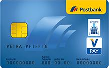 Postbank VISA Card Prepaid Logo