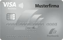 Postbank VISA Business Card Classic Logo