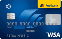 Postbank Visa Card Logo