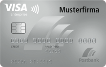 Postbank Enterprise Card Logo