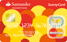 Santander SunnyCard Logo
