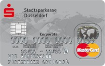 Sparkasse Düsseldorf Corporate Card Premium Logo