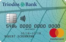 Triodos GrünCardPlus MasterCard Logo