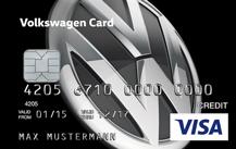 Volkswagen Bank Visa Card mobil Logo