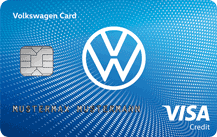 Volkswagen Bank Visa Card Logo