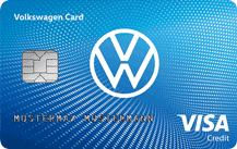 Volkswagen Bank Visa Card Logo