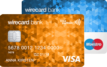 Wirecard Bank Prepaid Trio Logo