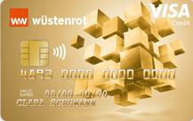 Wüstenrot Bank Visa Gold Kreditkarte Logo