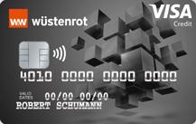 Wüstenrot Bank Visa Premium Kreditkarte Logo
