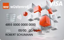 Wüstenrot BankVisa Prepaid mit Schufaprüfung - Kartenmotiv